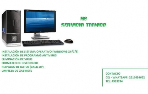 Servicio tecnico pc - notebook