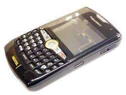 Carcasa blackberry 8350i nextel full original negra / roja